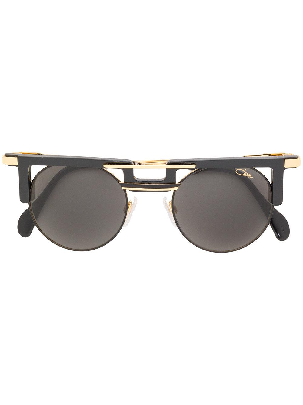 9801ff61d5b Cazal Double Nose Bridge Sunglasses - Black. Farfetch
