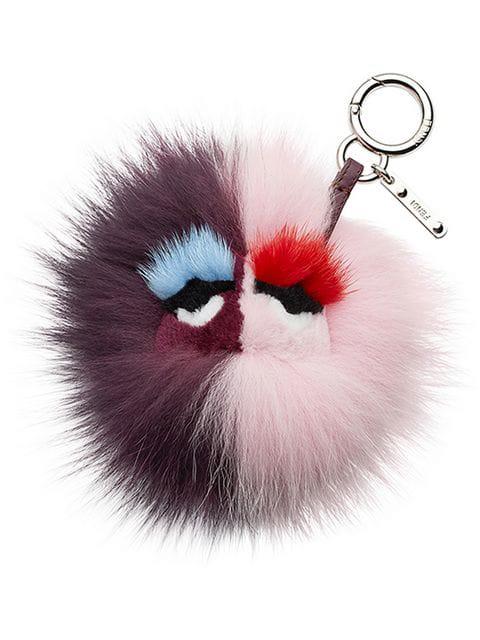 5880009cd4 Fendi Fur Bag Bug Charm In Pink   ModeSens