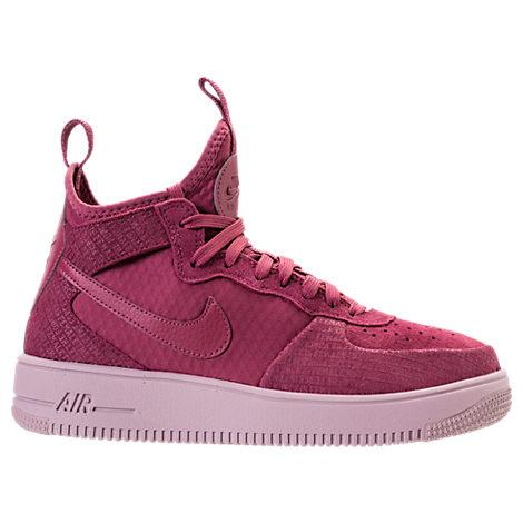 00fd090c0 Nike Women's Air Force 1 Ultraforce Mid Fif Casual Shoes, Purple ...