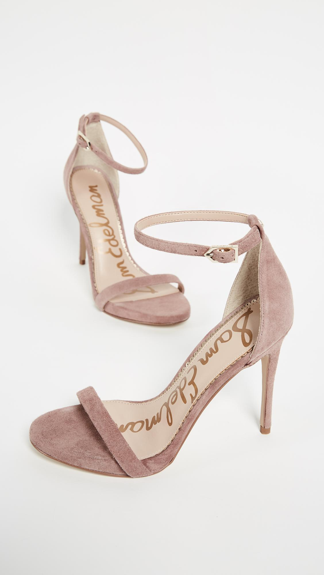 3b1aee162 Sam Edelman Ariella Sandals In Dusty Rose