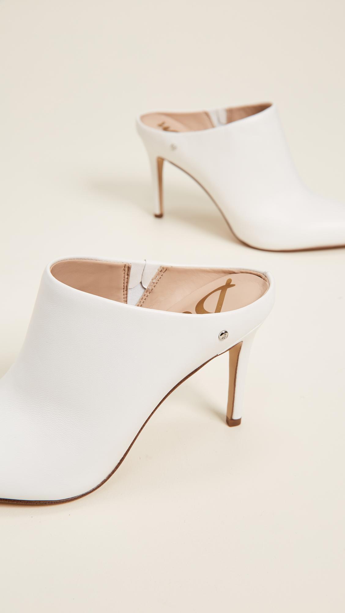 f028157510ef2 Sam Edelman Oran Mules In Bright White