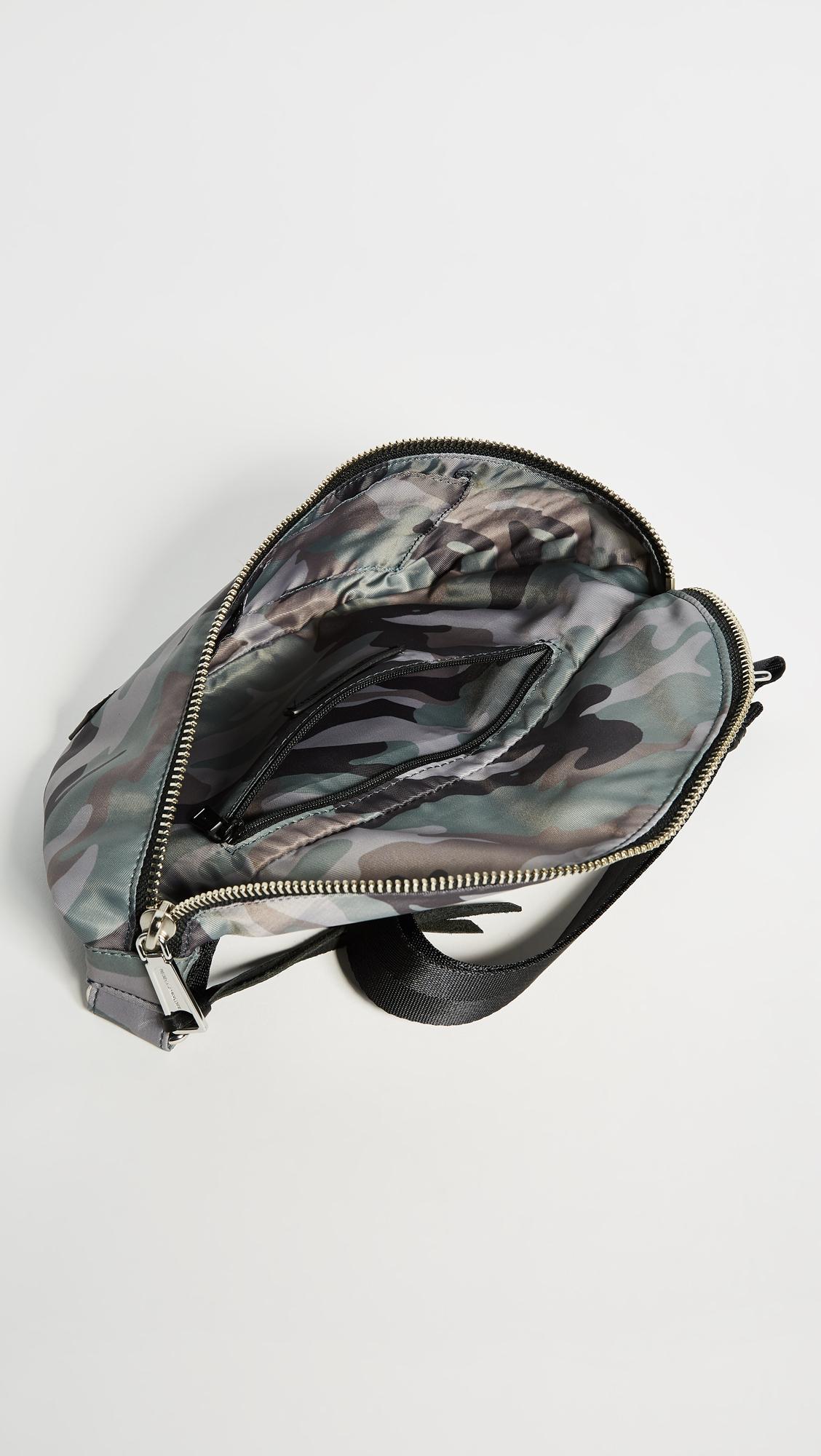 dcf2f858a0b Rebecca Minkoff Nylon Belt Bag In Camo Print