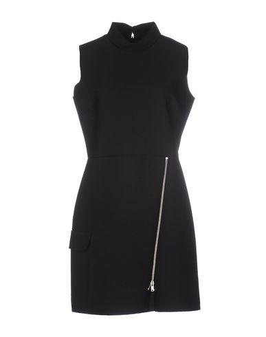 Msgm Short Dress In Black
