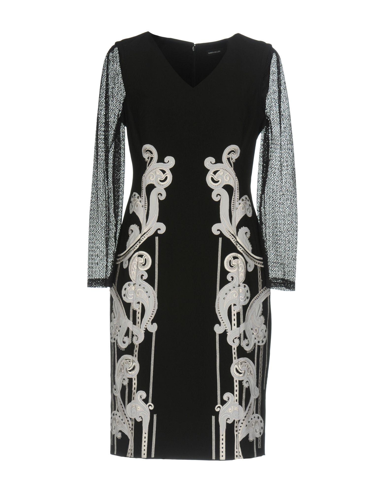 Karen Millen Short Dress In Black
