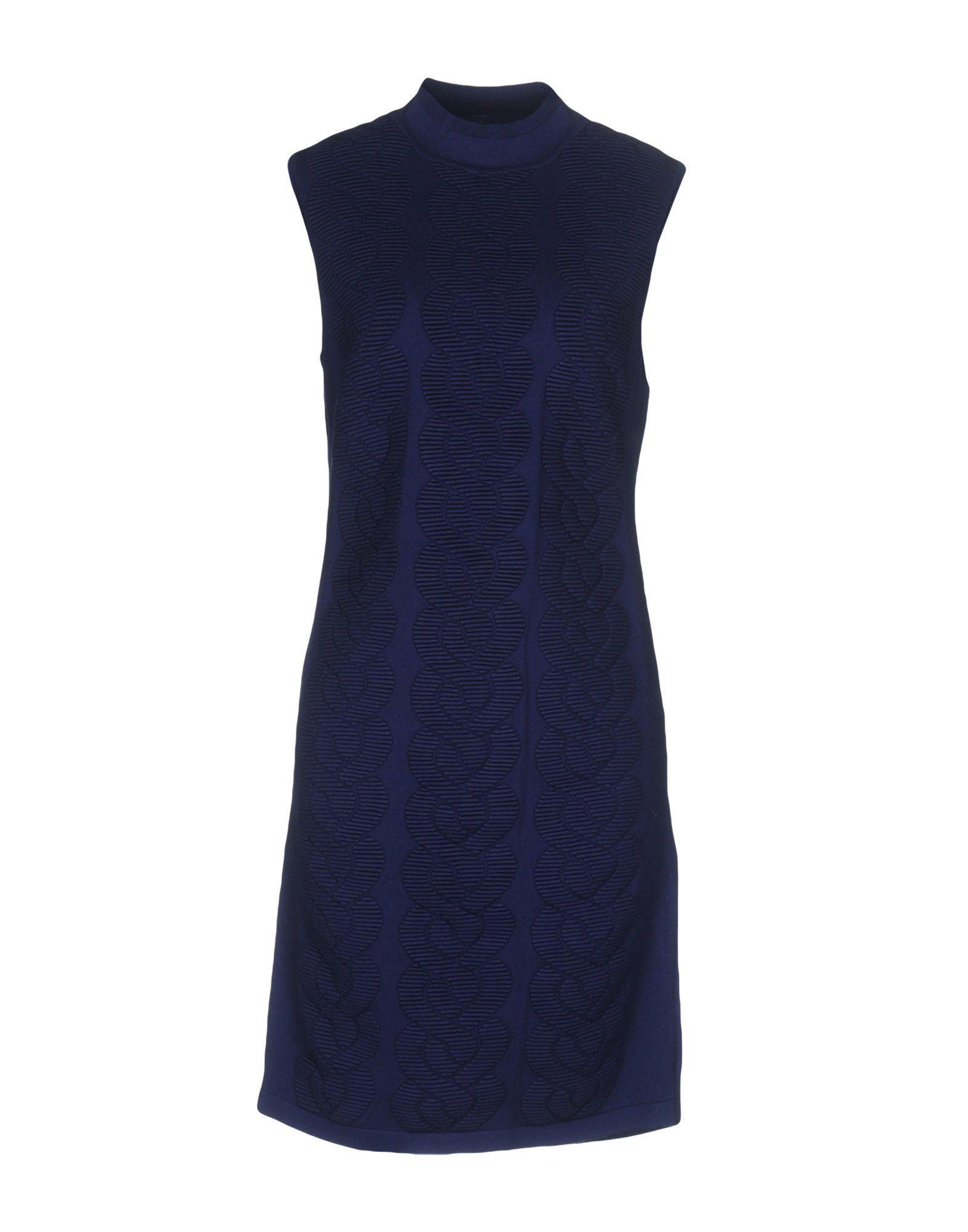 Karen Millen Short Dresses In Blue