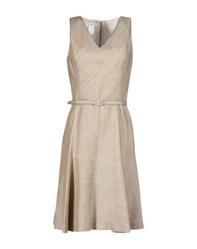 Oscar De La Renta Knee-length Dress In Khaki