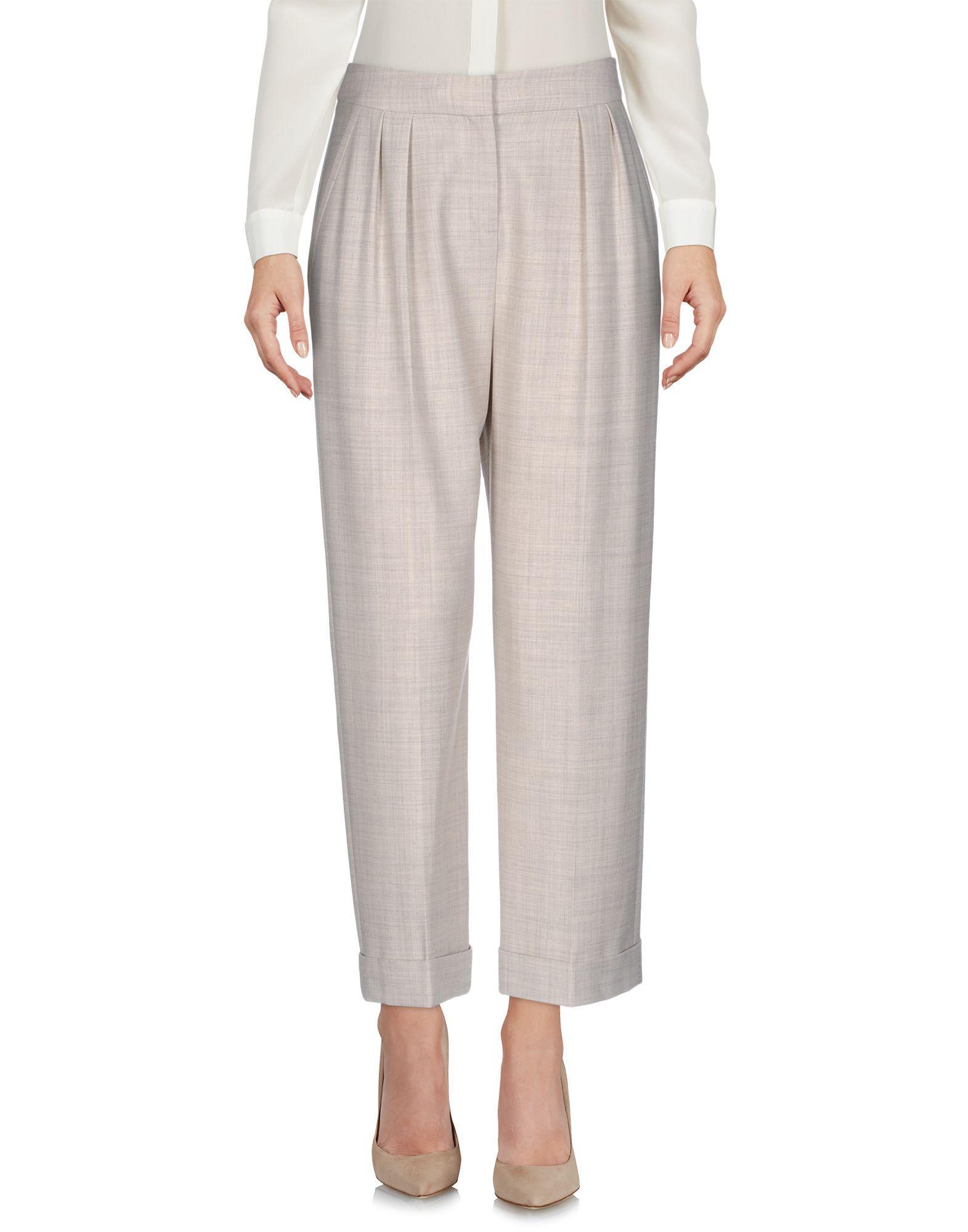 Karen Millen Casual Pants In Beige