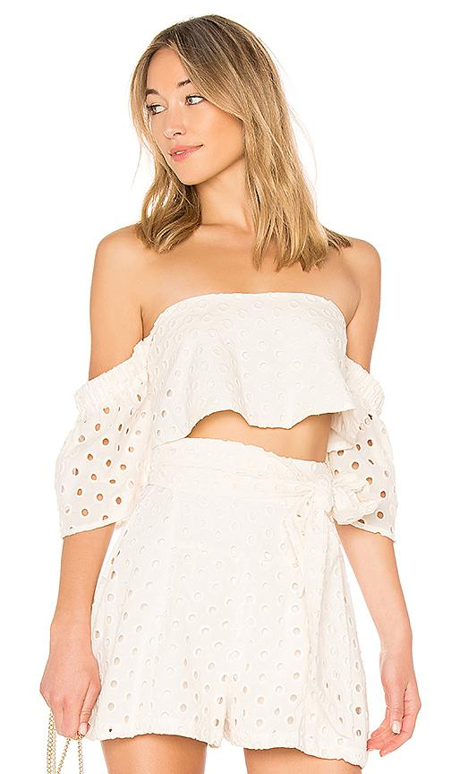 Paper London Plage Pacific Top In Cream