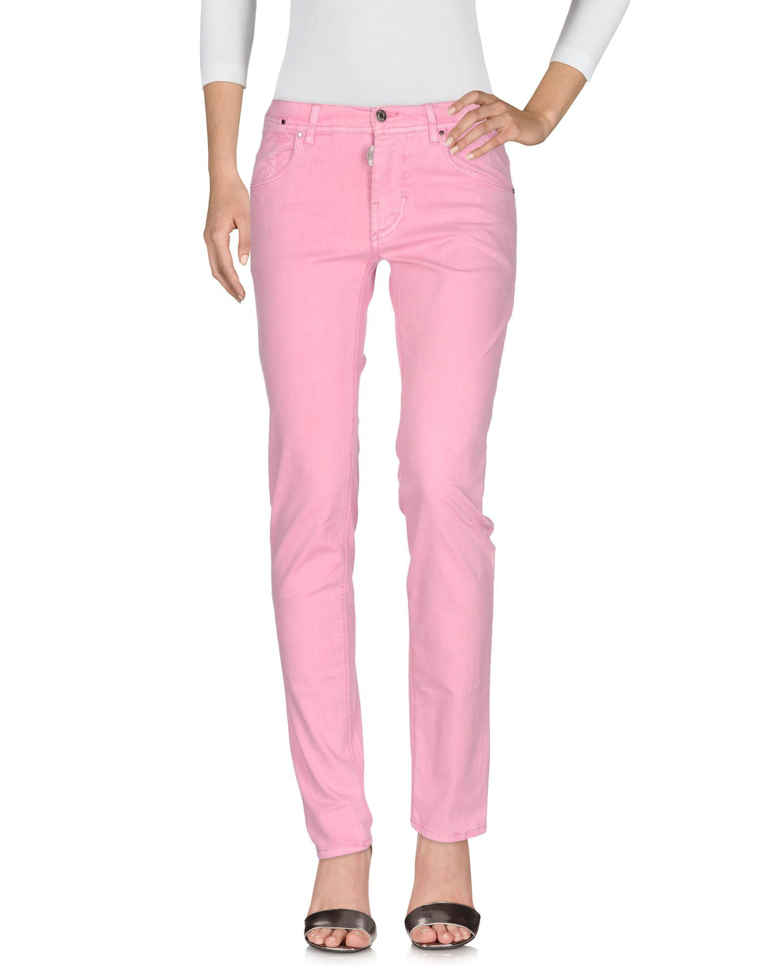 Antony Morato Denim Pants In Pink