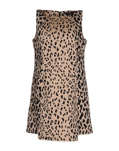 Tibi Short Dress In Beige