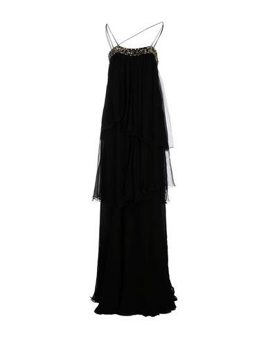 Roberto Cavalli Long Dresses In Black