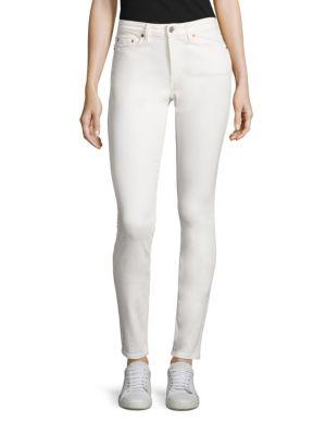Acne Studios Skin Vintage Skinny Jeans In Vintage White