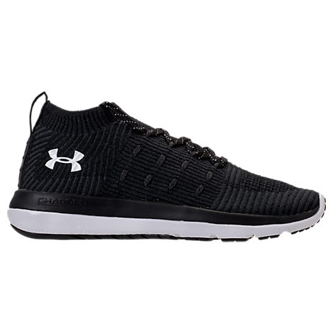 2e6b2bab775c0 UNDER ARMOUR. Women s Threadborne Slingflex Rise Running Sneakers From Finish  Line in White Black