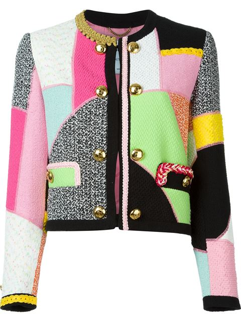 Moschino Patchwork Jacket