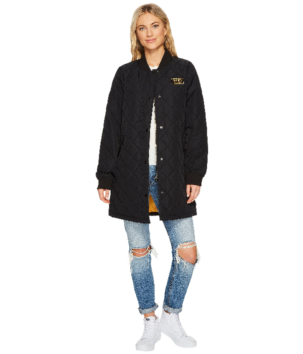 Boom Boom Quilted Jacket In Black