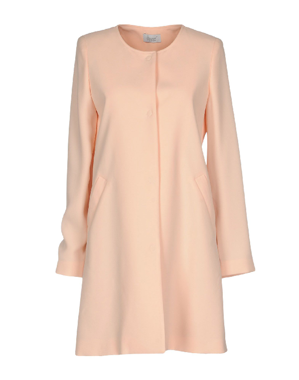 Hopper Full-length Jacket In Pink