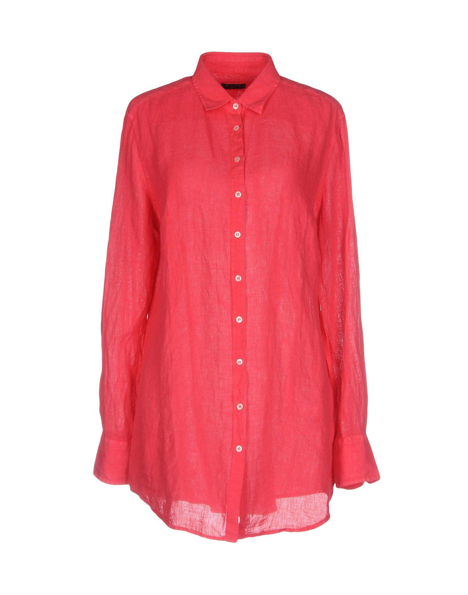 Fred Perry Shirts In Coral