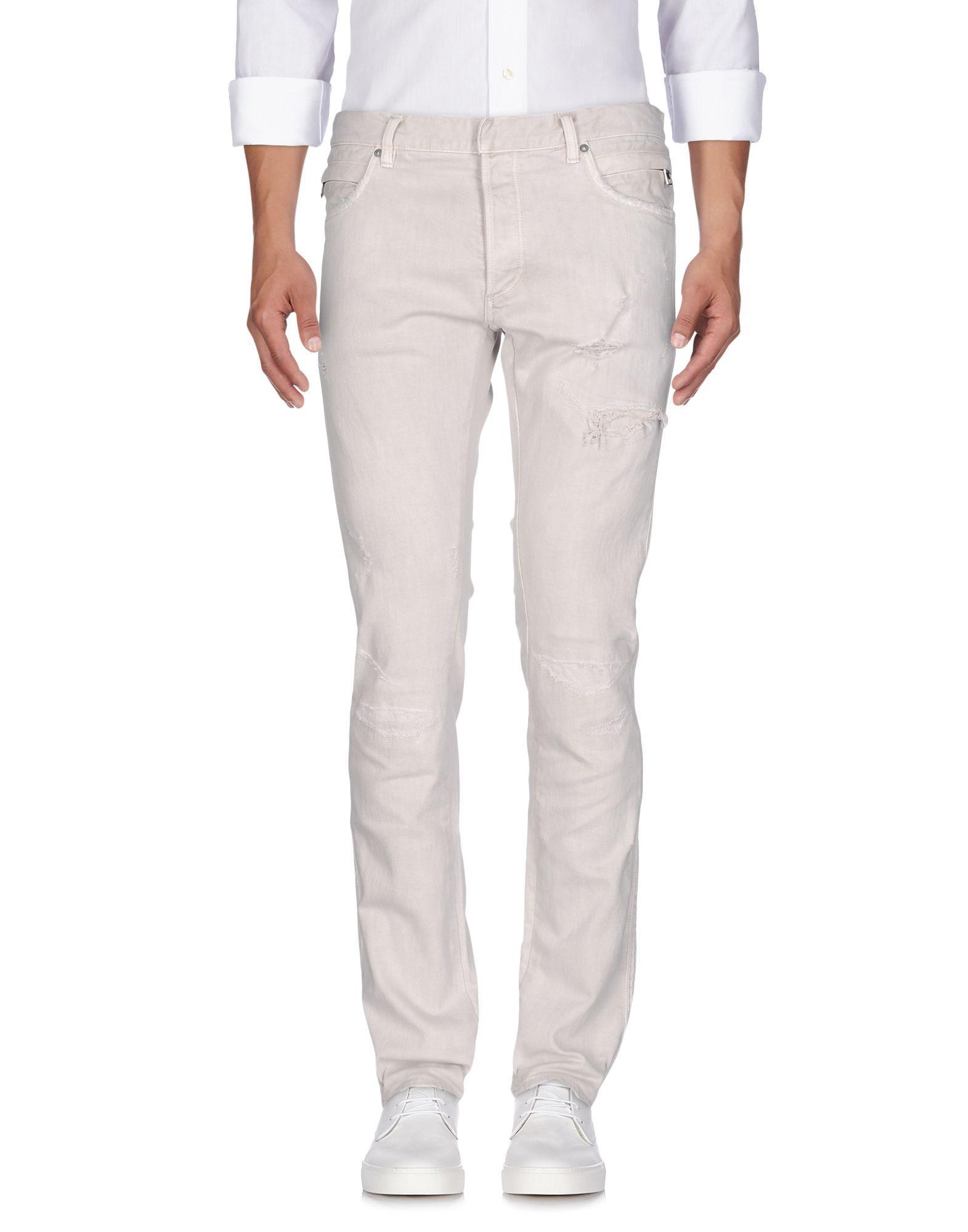 688777bc801b5b Balmain Denim Pants In Grey | ModeSens