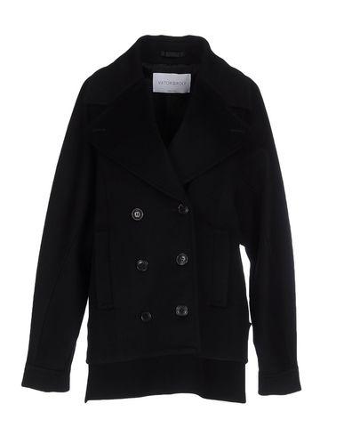 Viktor & Rolf Coats In Black