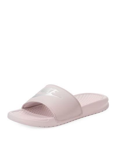 089112b8a NIKE. Women s Benassi Jdi Swoosh Slide Sandals ...