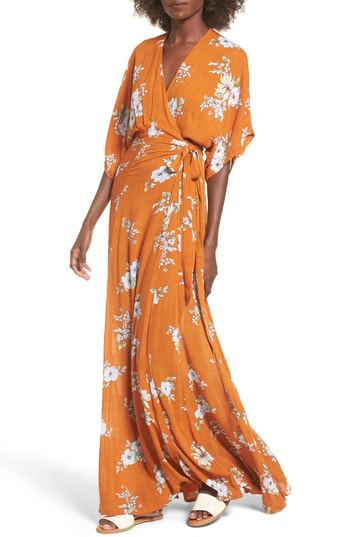 c2b79090eac Faithfull The Brand Bergamo Floral Wrap Maxi Dress In Chelsea Floral Print