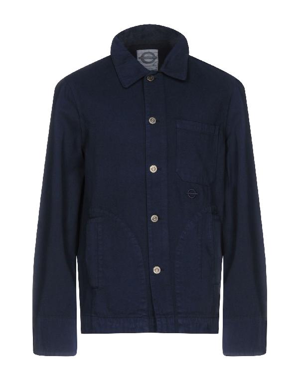Roundel London Jacket In Dark Blue