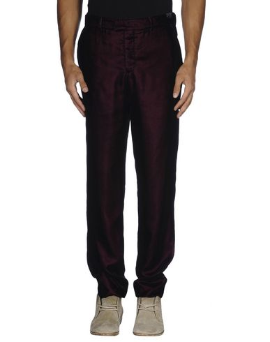 Emporio Armani Casual Pants In Deep Purple
