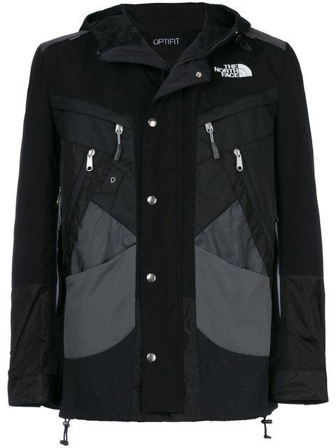 Junya Watanabe Black The North Face Edition Backpack Jacket