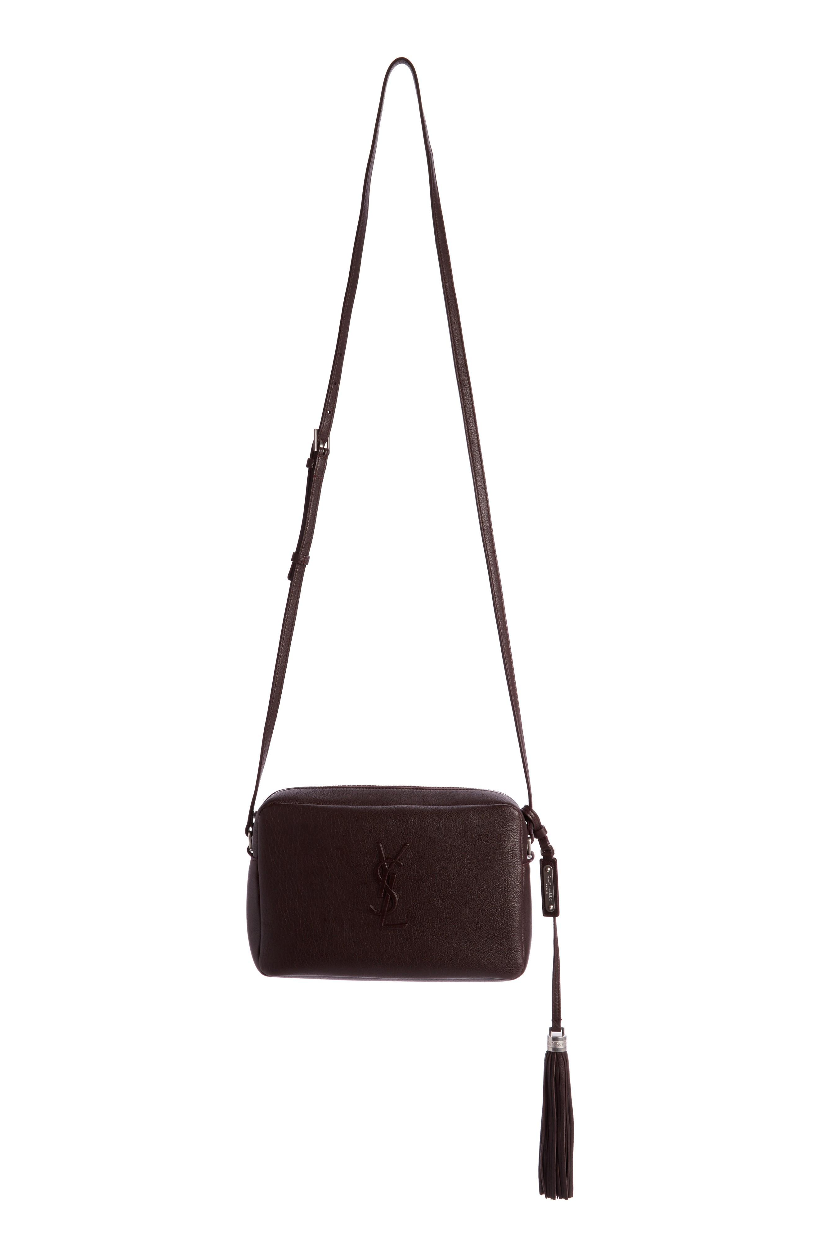 242d409c2646 Style Name  Saint Laurent Small Mono Leather Camera Bag. Style Number   5631613 1. Available in stores.
