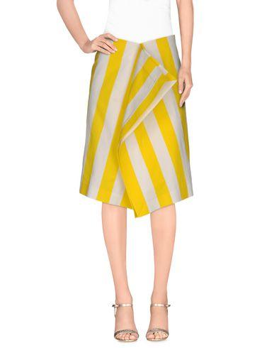 Jacquemus Knee Length Skirt In Yellow