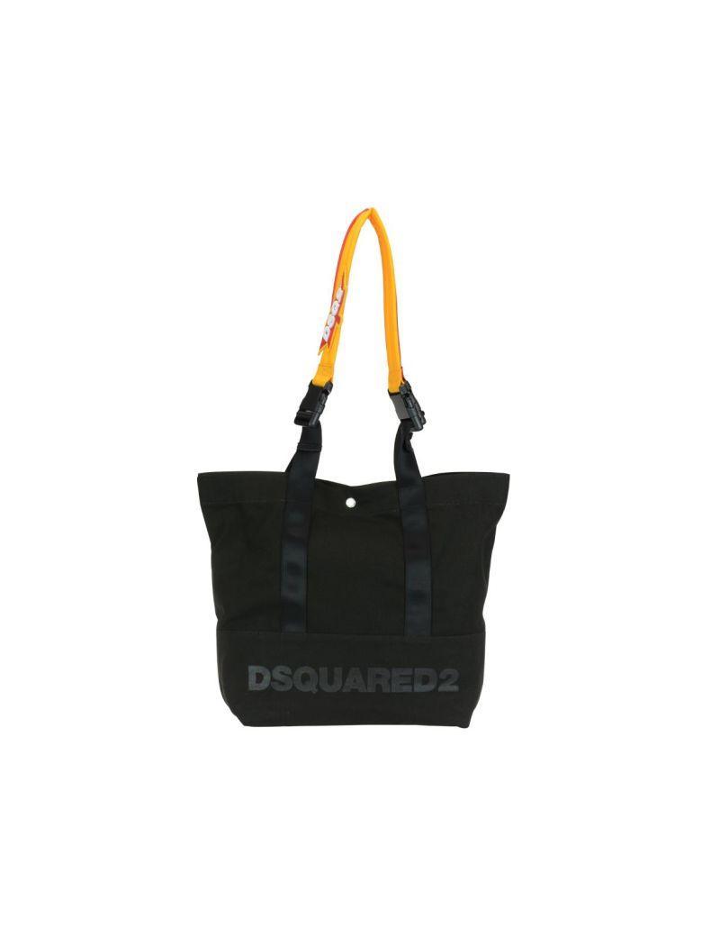03e415ed47969 Dsquared2 UmhÄNgetasche Herren Tasche Schultertasche Messenger Bag Funny In  Black