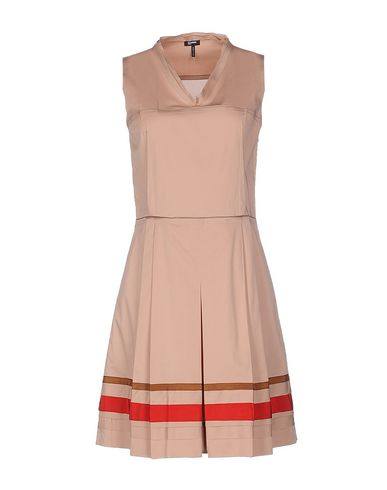 Jil Sander Short Dress In Skin Color