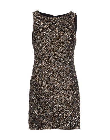 Alice And Olivia Short Dresses In Lead