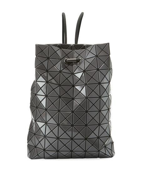Bao Bao Issey Miyake Wring Faux-Leather Prism Backpack In Grey ... 5ba194db6249f