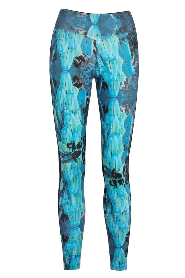 Bodyism I Am Fantastic Leggings In Turquoise
