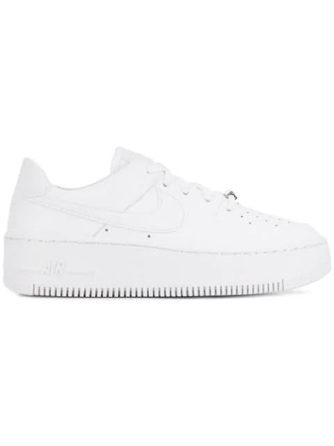 Nike Air Force 1 Sage Low Women's Shoe (white)