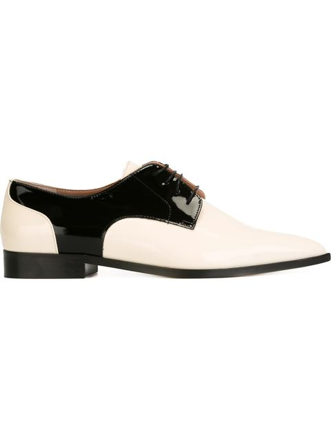 5c9df085711 Pointed Toe Derby Shoes