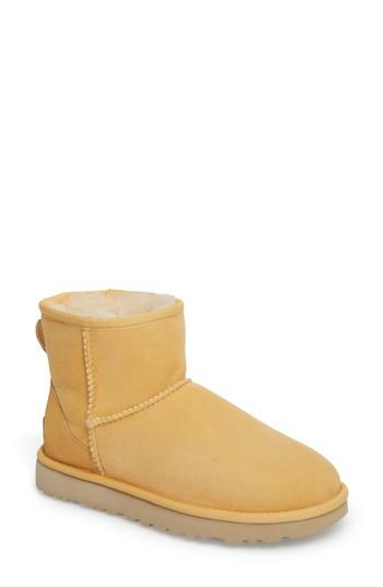 cf5121e551c Ugg 'Classic Mini Ii' Genuine Shearling Lined Boot in Sunflower