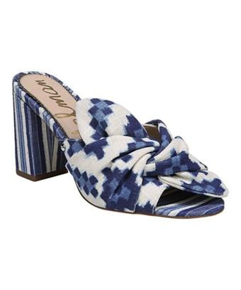 72e408f40db Sam Edelman Oda Slide Sandal In Blue Multi Print