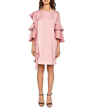d980cad5b Ted Baker Eicio Ruffled Tunic Dress In Pink