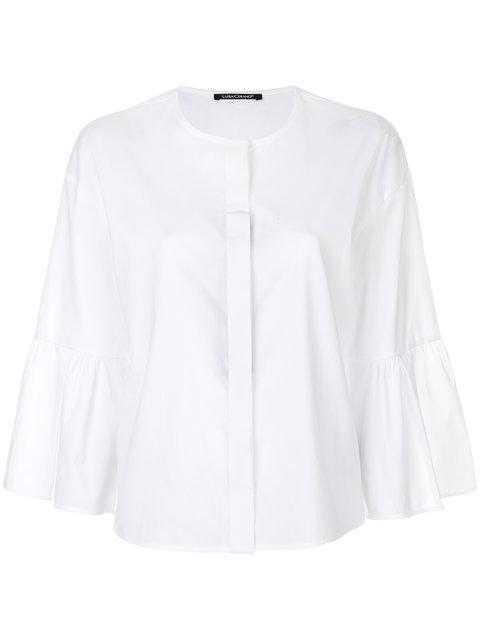 b37a6582 Luisa Cerano Button Up Boxy Shirt | ModeSens