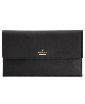 Kate Spade Cameron Street Brennan Convertible Leather Crossbody In Black
