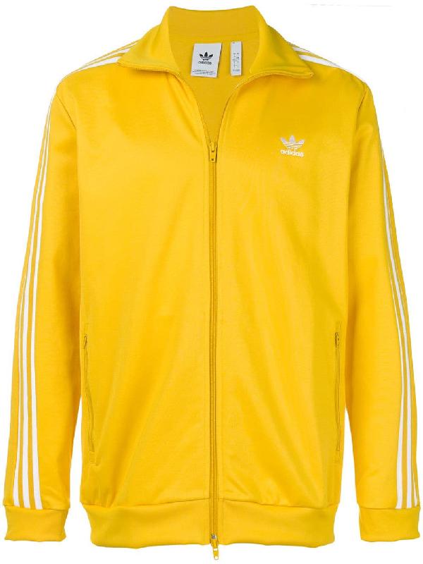 f1ed6191d49 Adidas Originals Men's Adias Originals Pharrell Williams Hu Holi Superstar  Track Jacket, Yellow