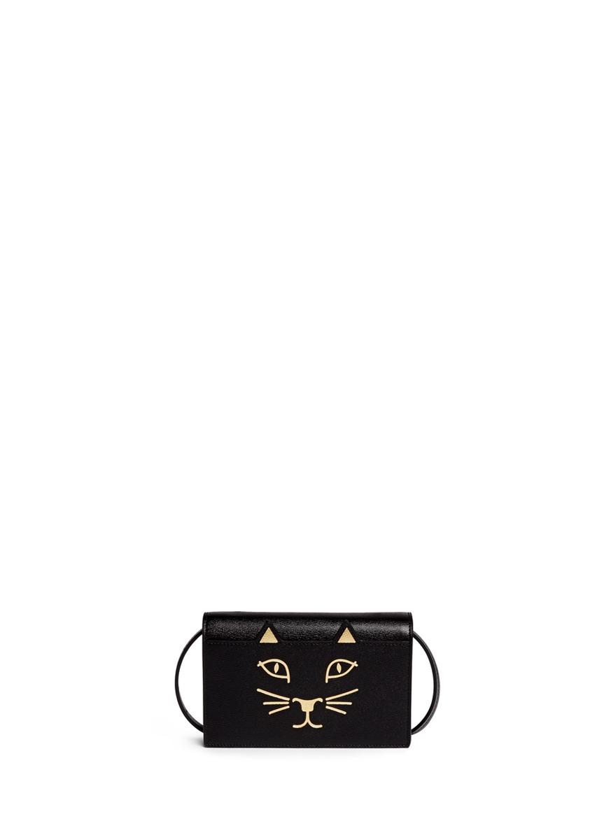 Charlotte Olympia Feline Shoulder Bag