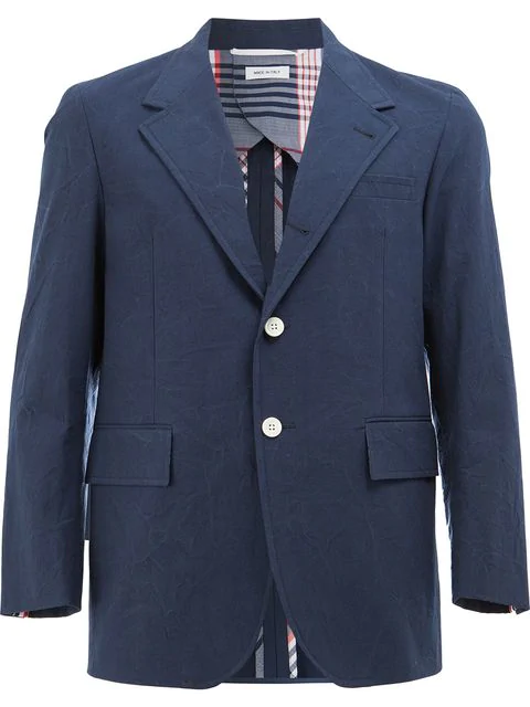 Thom Browne Classic Blazer In Blue