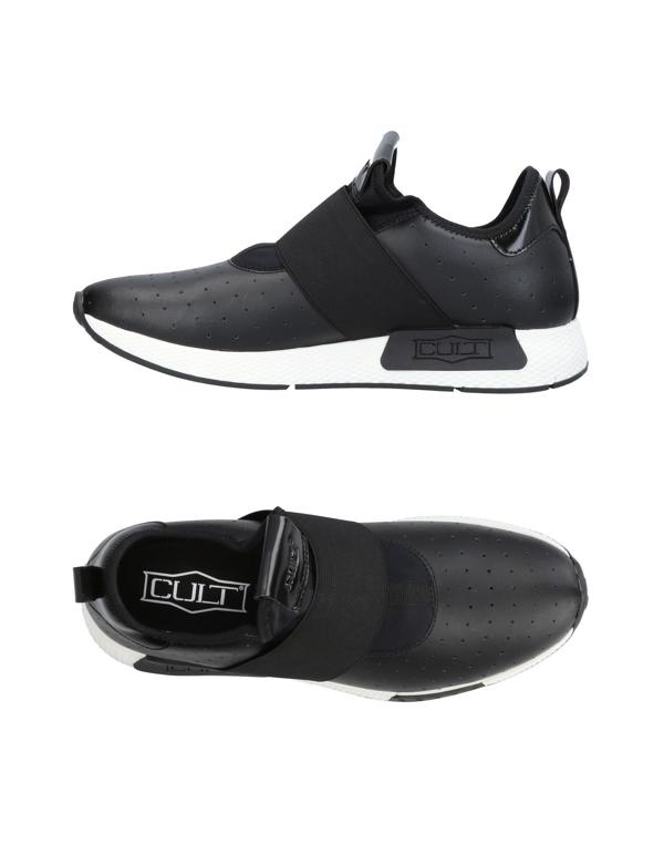 Cult Sneakers In Black