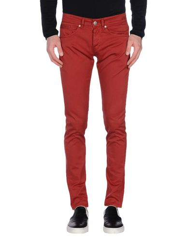 Dondup Casual Pants In Maroon