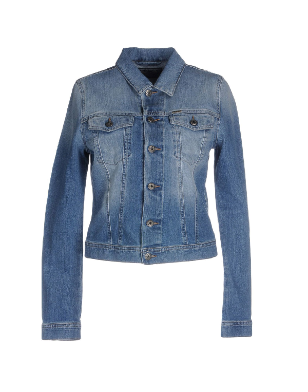 Diesel Denim Outerwear In Blue