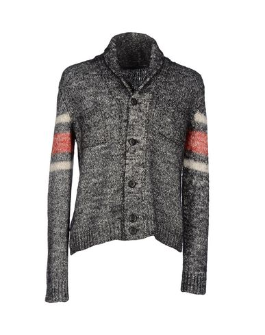 Dondup Cardigans In Steel Grey