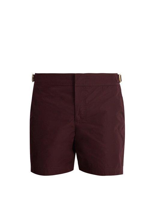 c34cb77bf4 Orlebar Brown Bulldog X Swim Shorts In Burgundy | ModeSens